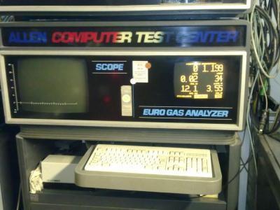 Test komputera samochodowego